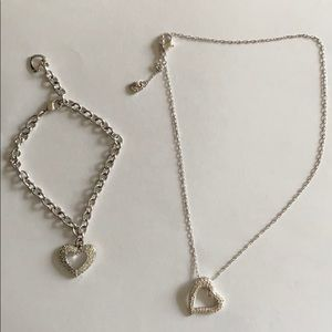 SWAROVSKI CRYSTAL Necklace and bracelet